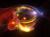 乱流エネルギー — ストック写真