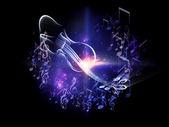 Way of Music — Stock Photo