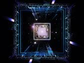 Conceptual Processor — Stock Photo