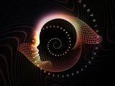 Advance of Intelligent Life — Stock Photo