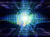 Fractal song — Stock Photo
