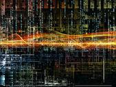 Paradigm för digitala nätverk — Stockfoto