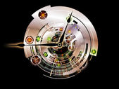 Clockwork Metaphor — Stock Photo