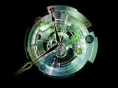 Virtual Clockwork — Stock Photo
