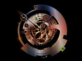 Numeric Vision of Clockwork — Stock Photo