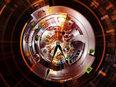 Clockwork Composition — Stock Photo
