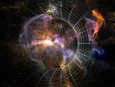 Numeric Cosmos — Stock Photo