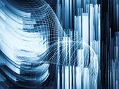 Energy of Digital Dynamic — Stock Photo