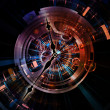 Stock Photo: Clockwork Design