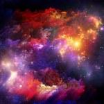 particules de peinture fractale — Photo #17869701