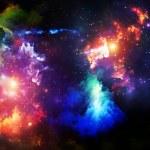 particules de peinture fractale — Photo #17869793