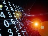 Digital Information Stream — Foto de Stock