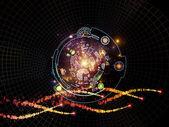 The Meditations on Digital Processing — Stock Photo