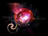 Digital Clockwork — Stock Photo
