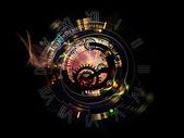 Visualização de um relógio — Fotografia Stock
