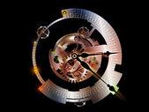 Paradigmas digitais de um relógio — Fotografia Stock