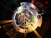 Clockwork Numbers — Stock Photo