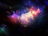 Układ farba fraktal — Zdjęcie stockowe