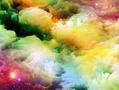 Serin fraktal boya — Stok fotoğraf