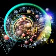 Stock Photo: Propagation of Chemical Elements