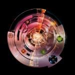 Clockwork Visualization — Stock Photo #18149931