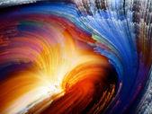 Energi av färg — Stockfoto