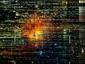 Парадигма цифровой сети — Стоковое фото