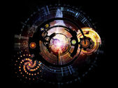Numbers of Clockwork — Stock Photo