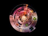 Visualisation sur des roulettes — Photo