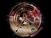 Inner Life of Clockwork — Stock Photo