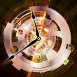 Stock Photo: Clockwork Composition