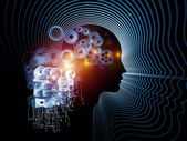 Information Processing — Stock Photo