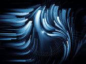 Sfery cyfrowy dynamiczne — Zdjęcie stockowe