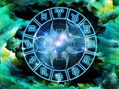 Fundo de astrologia — Fotografia Stock