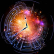 Clock universe — Stock Photo