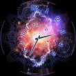 Clock universe — Stock Photo #18752493