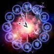 Zodiac clock — Stock Photo #18752549