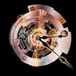 Lights of Clockwork — Stock Photo