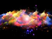 облака цвета — Стоковое фото