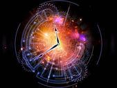 Universo orologio — Foto Stock