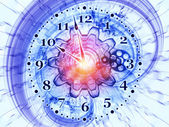 Orologio fractal — Foto Stock