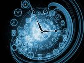 Internals van tijd — Stockfoto