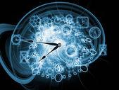 Voortgang van tijd — Stockfoto
