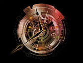 Clockwork Backdrop — Stock Photo