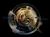 Vie intérieure de rouage d'horloge — Photo