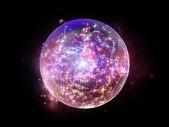 Fractal Sphere Design — Stock Photo