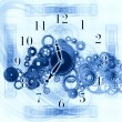 Abstract clock background — Stock Photo #18988711