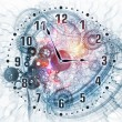 Surreal clock concept — Stock Photo #18988737