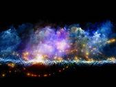 Mundos de espuma fractal — Fotografia Stock