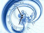Astrazione del tempo — Foto Stock